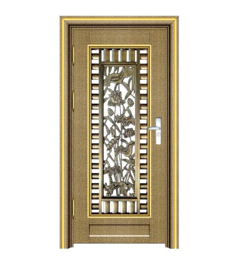 青古铜自由纹单门